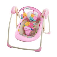Bright Starts Taggies Portable Baby Swing Cozy Posies