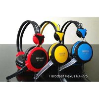 (Termurah) Headset Gaming Rexus RX995 - With Microphone High Quality