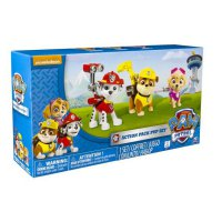 Paw Patrol Figure Set (Marshal, Skye, Rubble), Nickelodeon