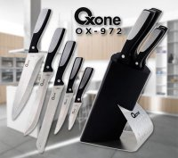 Oxone Ox 972 Pisau Dapur Set Knife Block Set Wl Shop New Termurah01