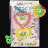 Velvet Sleepsuit Dream Wear Girl 3-6 Bulan