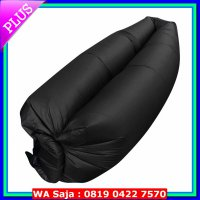 (Kursi & Sofa) Portable Inflatable Air Bed Sofa Outdoor - Hitam