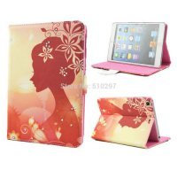 [globalbuy] New arrival Fashion Flip PU Leather Case For Apple iPad Mini 1 2 3 Smart Cover/5516464