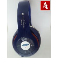 Headset Earphone Headphone Bluetooth Samsung Stn 16 Wireless Oem Blue Termurah01