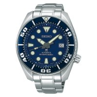 [Recommended] Seiko Prospex SBDC033J1 New Blue Sumo Stainless Steel Bracelet Watch