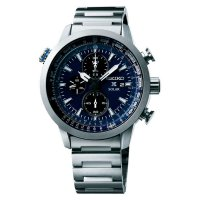 [Dijamin] Seiko Prospex SSC347P1 Sky Solar Chronograph Blue Dial Stainless Steel