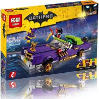 Lego Mobil Batman Movie LEPIN 07046 Bathero The Joker Lowrider