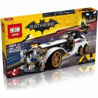 Lego Mobil Batman Movie LEPIN 07047 Bathero The Batman Classic Car