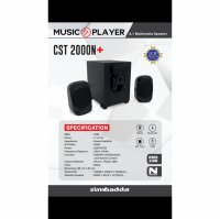 (Termurah) Speaker Simbadda CST 2000N+ USB/SD, Slot/Bluetooth and VolumeControl