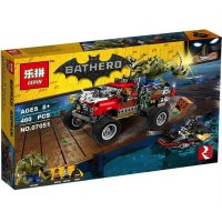 Lego Mobil Batman Movie LEPIN 07051 Bathero The Killer Croc Tail Gator