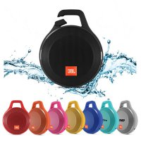 Jbl Clip+ Portable Splashproof Bluetooth Speaker - Black Termurah01