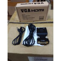 VGA Male To HDMI Female Konverter with Audio
