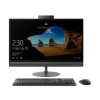 (Termurah) Pc Lenovo AIO All In One 520-22IKL - 4XID - Black i5-7400T/ 4GB / 1TB