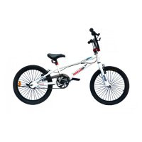 Reebok Bicycle BMX Trix with Rotor Sepeda - White [20 Inch]