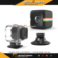 Polaroid Cube & Waterproof + Suction Mount