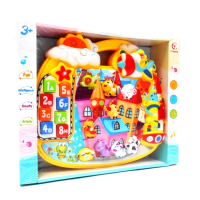 MOMO Cartoon Animal Castle CY-6037B - Mainan Piano BO
