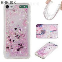 [globalbuy] Fashion Dynamic Liquid Glitter Cases for iPod Touch 5 6 Quicksand Soft TPU Cas/5007174
