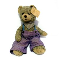 Boneka Teddy Bear Original Bears From The Past Series Retro Model