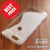 Soft Jelly Case Huawei Google Nexus 6P Silicon Silikon Softcase Casing - CLEAR TRANSPARAN