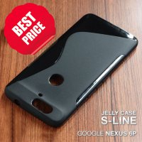 Soft Jelly Case Huawei Google Nexus 6P Silicon Silikon Softcase Casing - HITAM