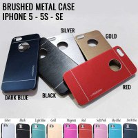 Brushed Metal Case iPhone 5 - 5S - SE