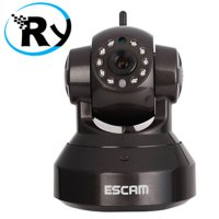 (Termurah) ESCAM Pearl QF100 Wireless IP Camera CCTV for Android and iOS 1/4 Inch