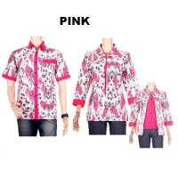 Baju Batik Couple / Sarimbit Model Blus ~ Aninda | 5 Warna | M L XL