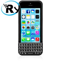 (Termurah) Typo Keyboard Case iPhone 5 5s SE - Black