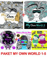 Paket My Own World: Coloring Book for Adults 1-5