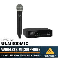 Behringer ULTRALINK ULM300MIC 2.4 GHz Mic Wireless Microphone System