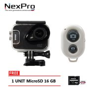 NexPro Smart Action Camera Phone Dream 007 4K 23MP Wifi + MicroSD 16GB