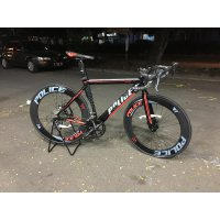 Sepeda Balap Police 911 Alloy Shimano Claris 2x8 Speed