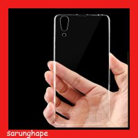 Lenovo K3 A6000 - Clear Soft Case Casing Cover Transparan