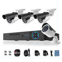 [macyskorea] TECBOX AHD DVR 4 Channel CCTV Security Camera System with 4 HD 720P Outdoor I/17531867