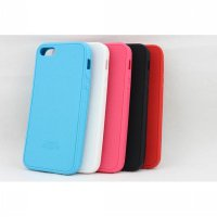 Xmart Softcase Iphone 5 / 5S Silicone Cell + Free Screen Guard