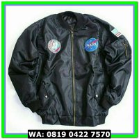 (Jaket) NASA BOMBER BLACK