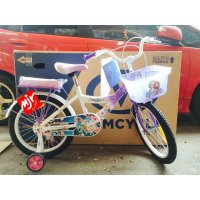 Sepeda Anak Perempuan Wimcycle Frozen 18 Inch Majuroyal