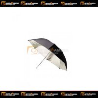 Tronic Reflector Umbrella Black & Silver 90CM