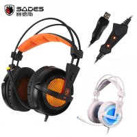 Sades SA 704 Sades A6 Locust Gaming Headphone Dota PB CSGO