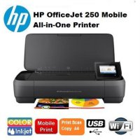 (Termurah) Printer HP OfficeJet 250 Mobile All-in-One wifi {portable HP wireless}
