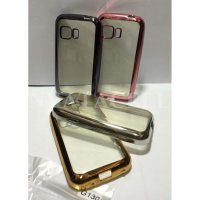 Case List Chrome Samsung Galaxy Young 2 G130 TPU Softcase Silikon Soft