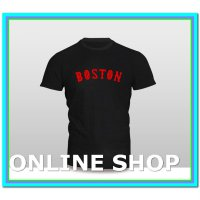 (Kaos) kaos baju pakaian baseball Boston Red Sox Logo 5 murah