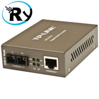 (Termurah) TP-Link MC210CS - Gigabit Ethernet Media Converter RJ-45 to FO