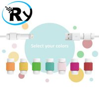 (Termurah) Lightning and Magsafe Saver USB Cable Protector - White