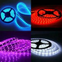 Flexible 3528 Lampu LED Strip SMD Waterproof/LED Strip 5 meter