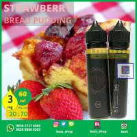 STRAWBERRY Bread Pudding | 60 mL 3 mg | VAPE Liquid LOKAL PREMIUM