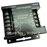 [globalbuy] LED color temperature adjustable power amplifier,6A*2Channel output/5380191