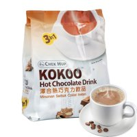 Minuman Cokelat Chek Hup 3 In 1 Kokoo Hot Chocolate Drink