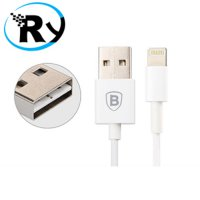 (Termurah) Baseus Fast Charging Lightning Cable 1m iPhone 6/6+/6s/6s+ - White