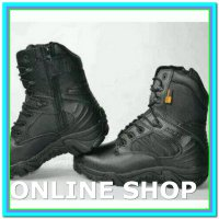 (Boots) Sepatu Tactical Delta 8in Black
